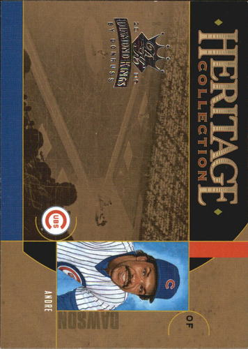 Photo of 2005 Diamond Kings Heritage Collection #1 Andre Dawson