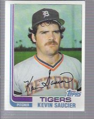 Photo of 1982 Topps #238 Kevin Saucier