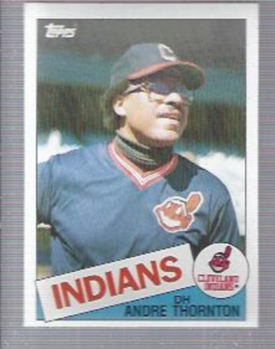 Photo of 1985 Topps #475 Andre Thornton