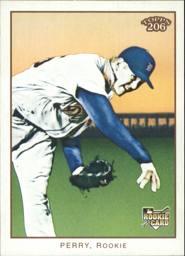 Photo of 2009 Topps 206 #87a Ryan Perry RC