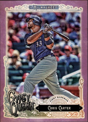 Photo of 2017 Topps Gypsy Queen Purple #45 Chris Carter