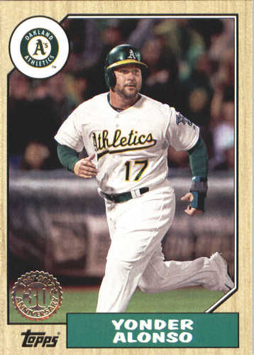 Photo of 2017 Topps Update '87 Topps #US8732 Yonder Alonso