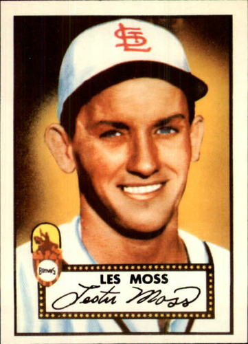 Photo of 1983 Topps 1952 Reprint #143 Les Moss