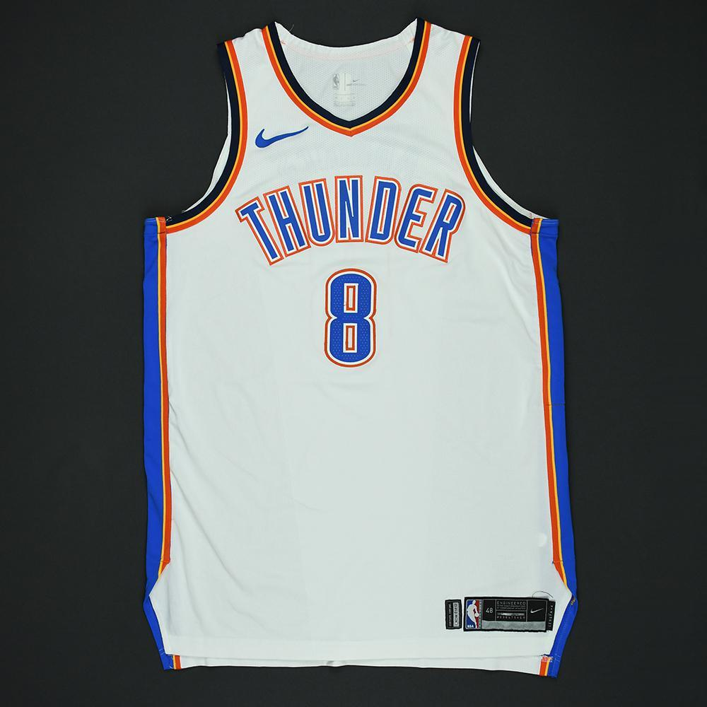 Alex Abrines - Oklahoma City Thunder - 2018 NBA Playoffs Game-Worn Jersey