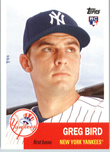 Photo of 2016 Topps Archives #53 Greg Bird RC