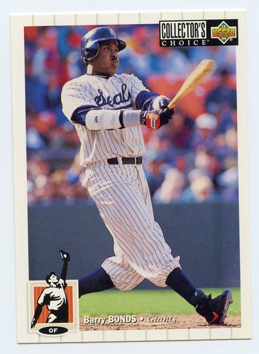 Photo of 1994 Collector's Choice #610 Barry Bonds