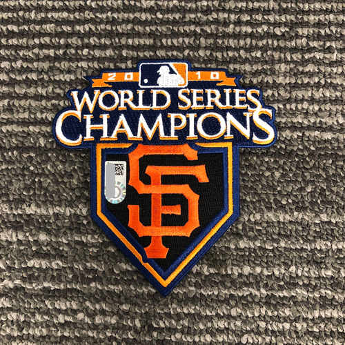 Photo of Team Issued Patch - 2010 World Series Champions Patch