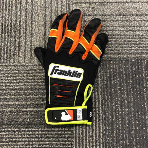 Photo of Team Issued Batting Glove (Right Side) (Single Glove) - 4x All Star #8 Hunter Pence