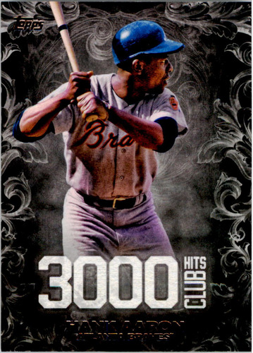 Photo of 2016 Topps Update 3000 Hits Club #3000H3 Hank Aaron