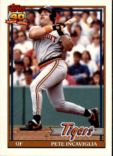 Photo of 1991 Topps Traded #57T Pete Incaviglia