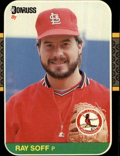 Photo of 1987 Donruss #631 Ray Soff