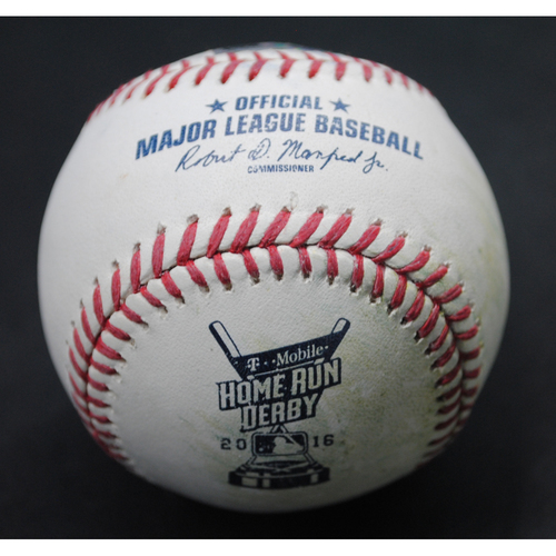 Photo of 2016 Home Run Derby (7/11/2016) - Game-Used Baseball - Todd Frazier - Final Round, Out