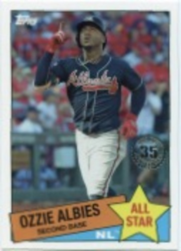 Photo of 2020 Topps '85 Topps All Stars #85AS33 Ozzie Albies