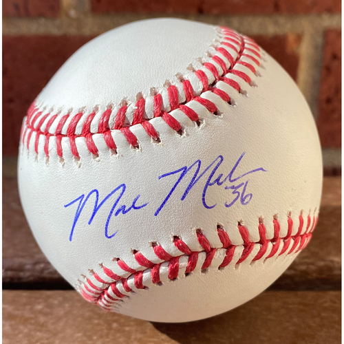 Photo of Mark Melancon Autographed Baseball