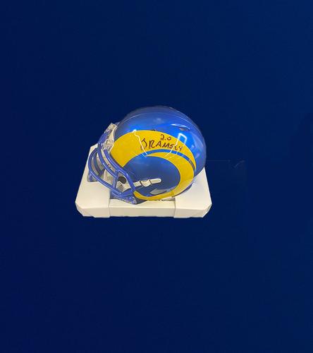 Photo of Jalen Ramsey Signed Mini-Helmet