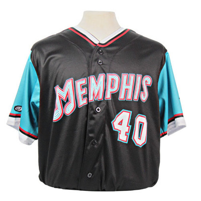 Clint Coulter Autographed Game-Worn 2021 Grizzlies-themed Jersey