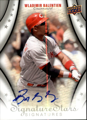 Photo of 2009 Upper Deck Signature Stars #122 Wladimir Balentien AU