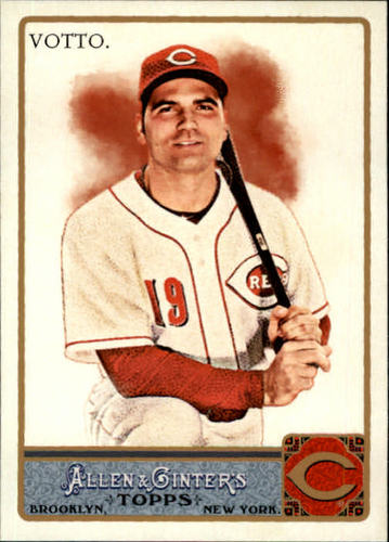Photo of 2011 Topps Allen and Ginter #80 Joey Votto
