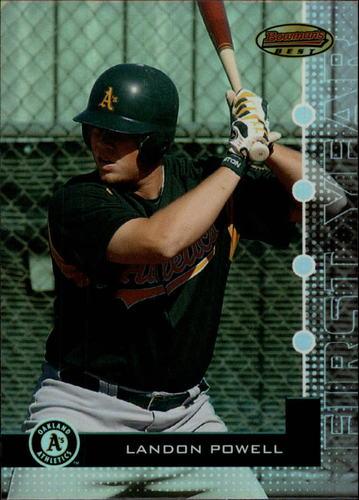 Photo of 2005 Bowman's Best #73 Landon Powell FY RC