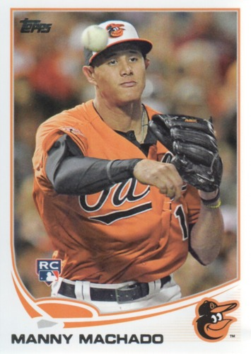 Photo of 2013 Topps #270A Manny Machado Rookie card