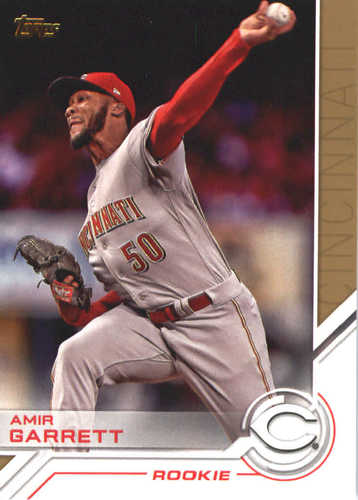Photo of 2017 Topps Update Salute #USS34 Amir Garrett