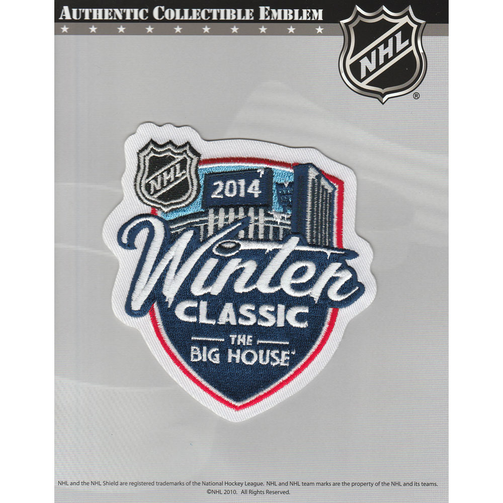 2014 NHL Winter Classic Jersey Patch