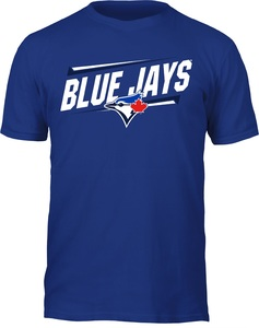 Toronto Blue Jays Slant T-Shirt Royal by Bulletin