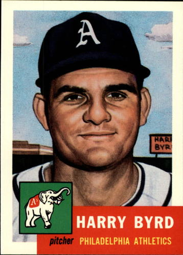 Photo of 1991 Topps Archives 1953 #131 Harry Byrd
