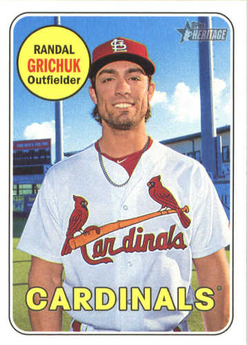 Photo of 2018 Topps Heritage #129 Randal Grichuk