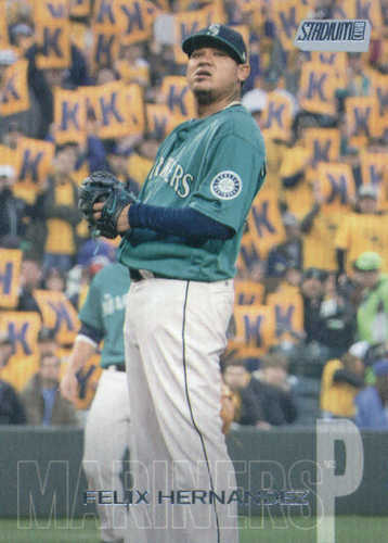 Photo of 2018 Stadium Club #252 Felix Hernandez