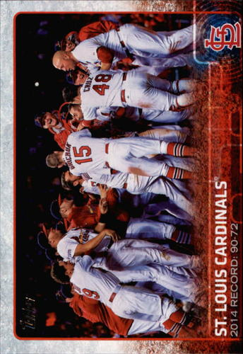 Photo of 2015 Topps #648 St. Louis Cardinals BB