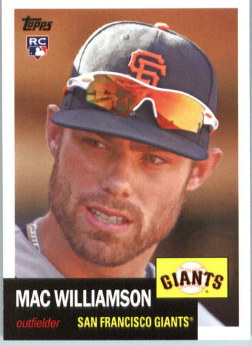 Photo of 2016 Topps Archives #37 Mac Williamson RC