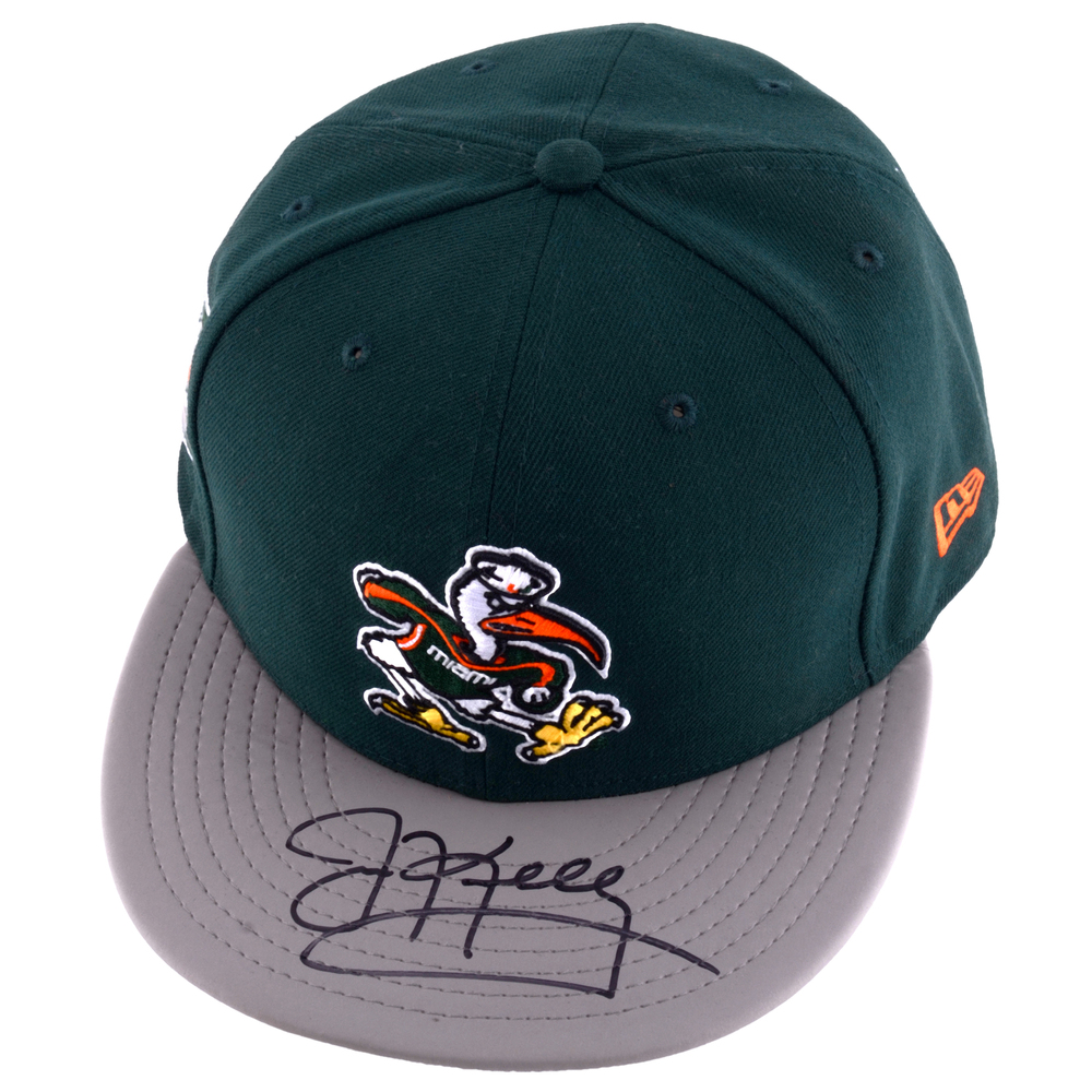 Jim Kelly Miami Hurricanes Autographed New Era Cap
