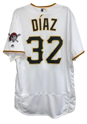 Photo of Elias Diaz 2018 Game-Used Jersey