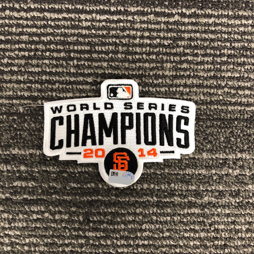 Photo of Team Issued Patch - 2014 World Series Champions Patch