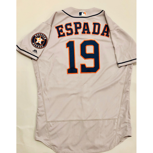 Photo of 2019 Mexico Series - Game-Used Jersey - Joe Espada, Houston Astros at Los Angeles Angels - 5/4/19