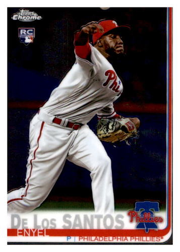 Photo of 2019 Topps Chrome #105 Enyel De Los Santos RC