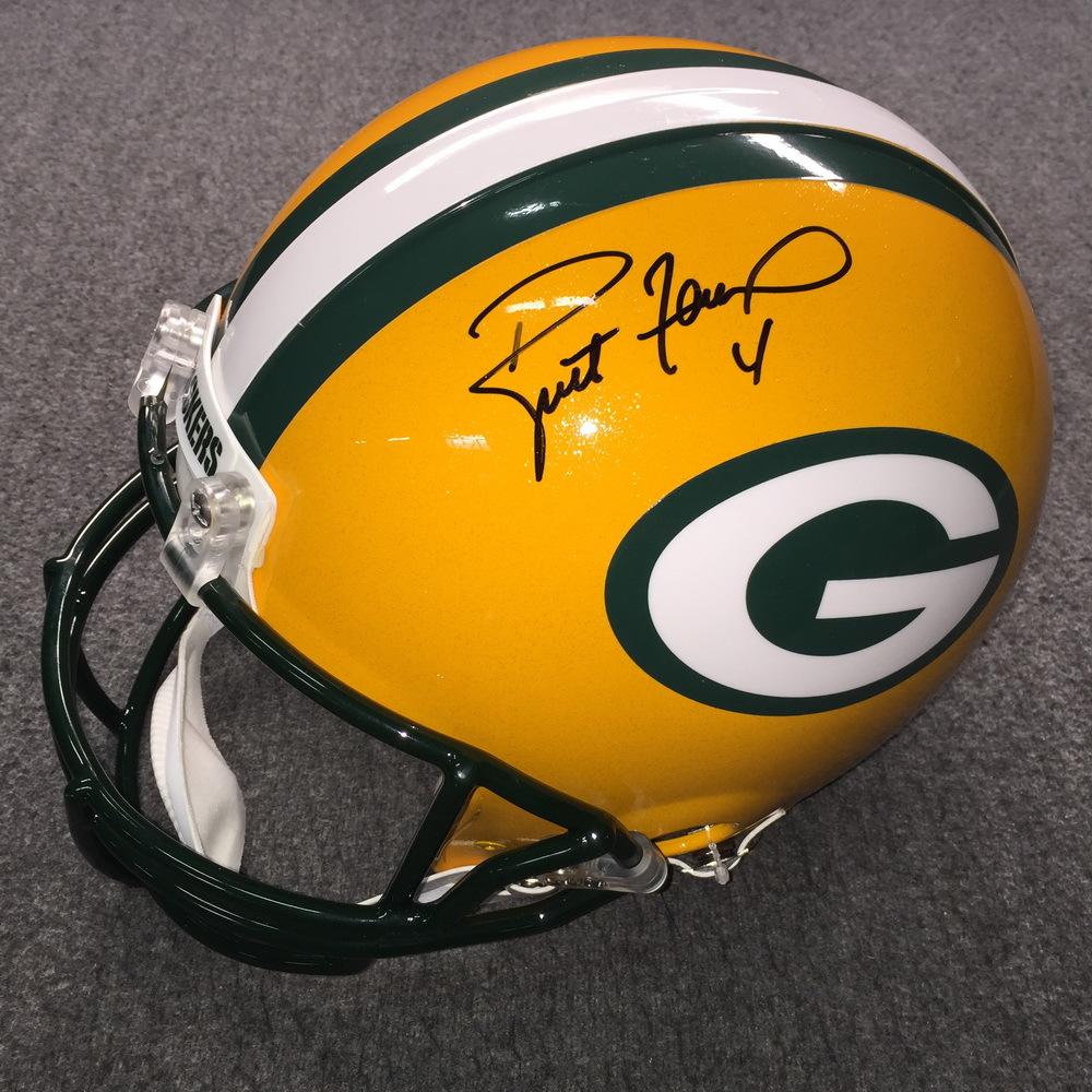 PCC - Packers Brett Favre Signd Proline Helmet