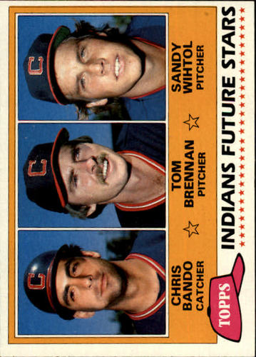 Photo of 1981 Topps #451 Chris Bando RC/Tom Brennan RC/Sandy Wihtol