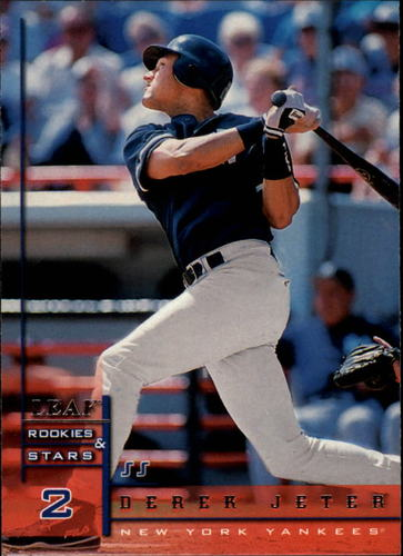 Photo of 1998 Leaf Rookies and Stars #34 Derek Jeter