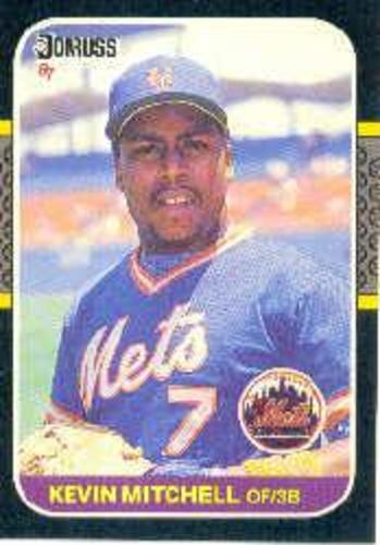 Photo of 1987 Donruss #599 Kevin Mitchell RC *