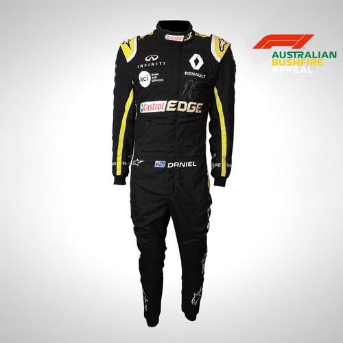 Photo of Daniel Ricciardo 2019 Signed Race Suit