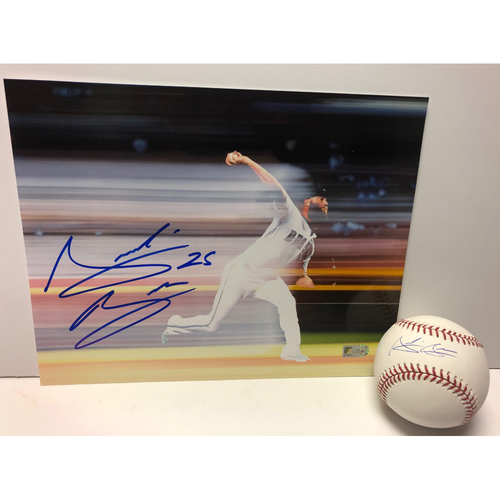 Photo of Archie Bradley Autographed 8x10 Photo and Baseball