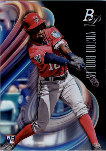 Photo of 2018 Bowman Platinum #13 Victor Robles RC