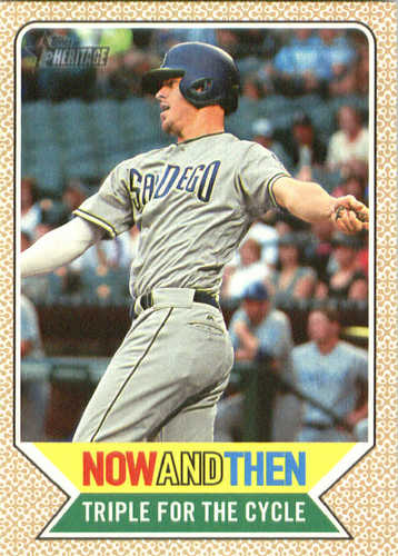 Photo of 2017 Topps Heritage Now and Then #NT1 Wil Myers