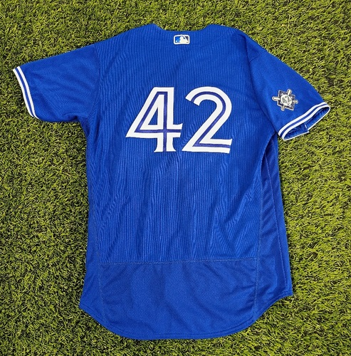 Photo of CHARITY AUCTION: Authenticated Team Issued #42 Jersey: Ryan Borucki (2020 Season). Size 46.