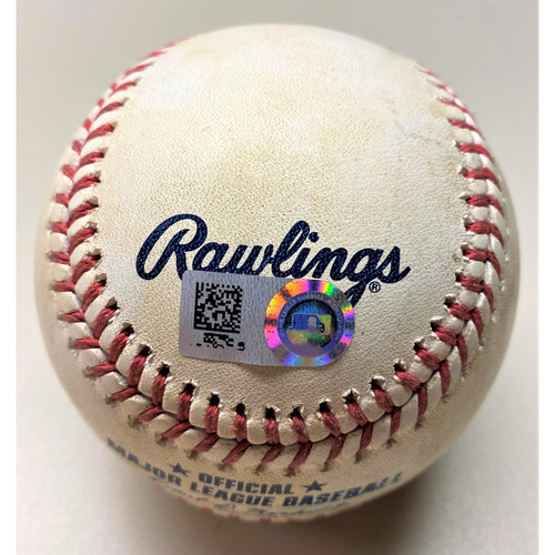 Game-Used Baseball: Casey Mize Detroit Tigers Strikeout (MLB AUTHENTICATED)