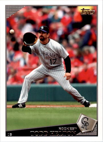 Photo of 2009 Topps #405 Todd Helton
