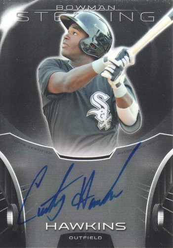 Photo of 2013 Bowman Sterling Prospect Autographs #CH Courtney Hawkins