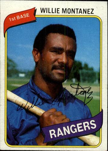 Photo of 1980 Topps #224 Willie Montanez